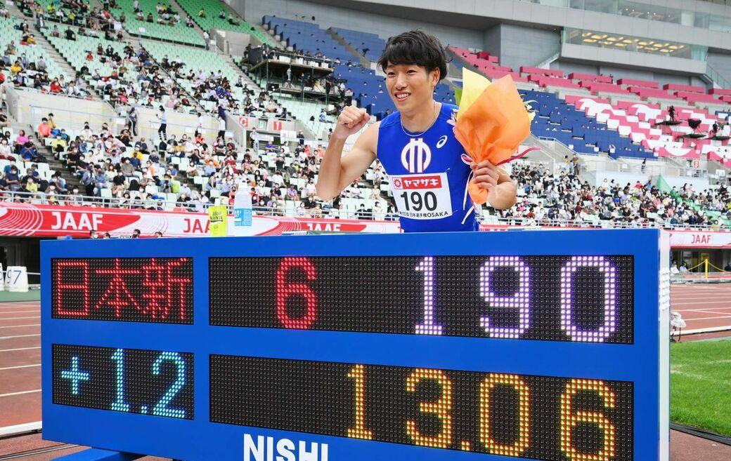 驚異的記録を出した泉谷、400mの黒川…男子ハードルに注目!