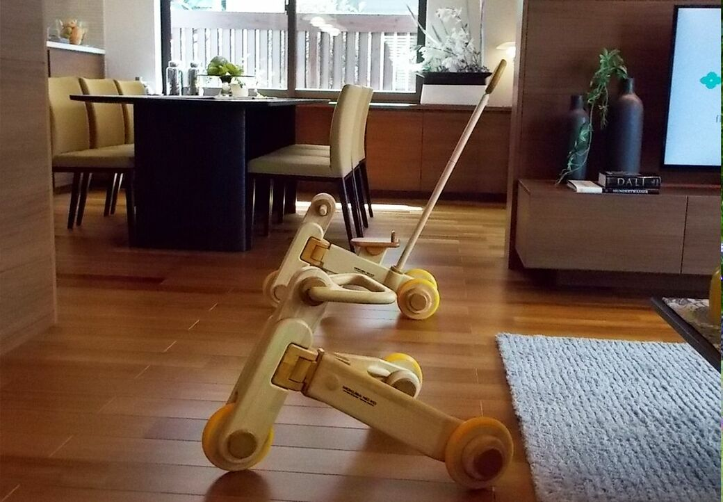 木製乗り物作りに工業デザインの手法を導入
